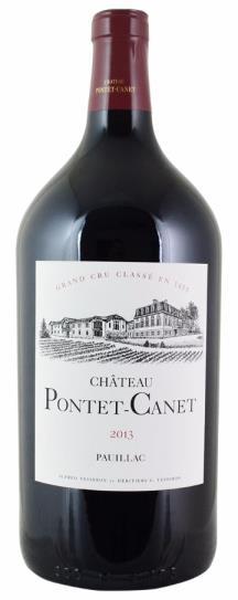 2013 Pontet-Canet Bordeaux Blend
