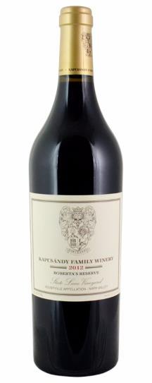 2012 Kapcsandy Family Winery Roberta's Reserve State Lane Vineyard