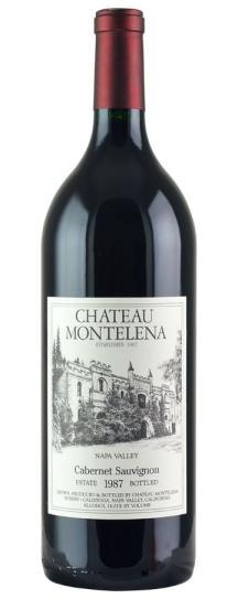 1987 Chateau Montelena Cabernet Sauvignon Estate