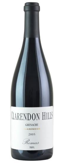 2005 Clarendon Hills Grenache Old Vines Romas Vineyard