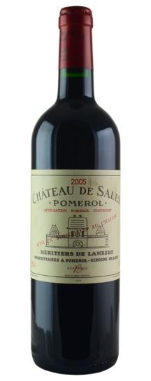 2005 De Sales Bordeaux Blend