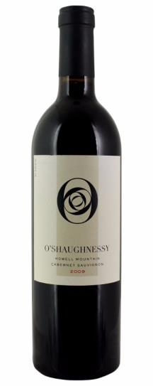 2009 O'Shaughnessy Cabernet Sauvignon Howell Mountain