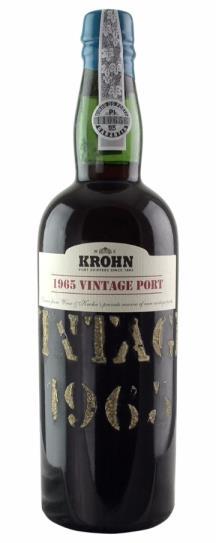 1965 Krohn Vintage Port