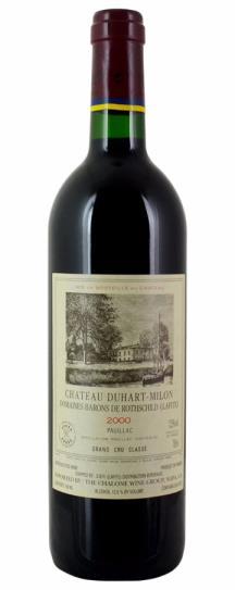 2000 Duhart-Milon-Rothschild Bordeaux Blend