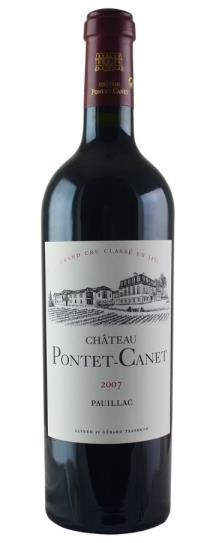 2007 Pontet-Canet Bordeaux Blend