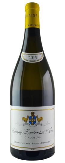 2015 Domaine Leflaive Puligny Montrachet Clavoillon