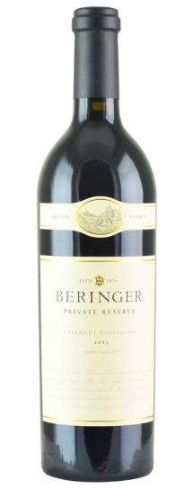 2013 Beringer Cabernet Sauvignon Private Reserve