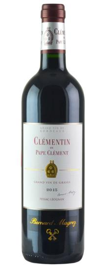 2016 Le Clementin (Pape Clement) Bordeaux Blend
