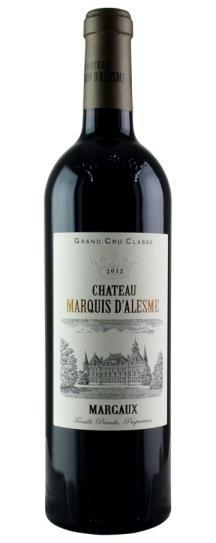2015 Marquis d'Alesme Becker Bordeaux Blend