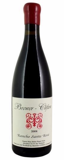 2004 Brewer-Clifton Pinot Noir Rancho Santa Rosa