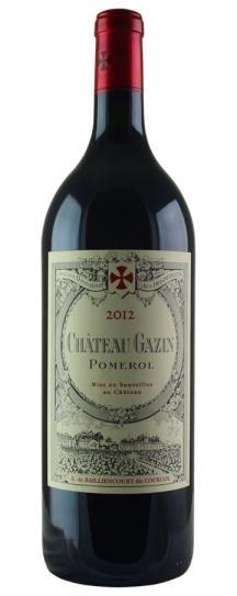 2012 Gazin Bordeaux Blend