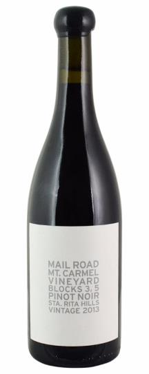 2013 Mail Road Blocks Pinot Noir