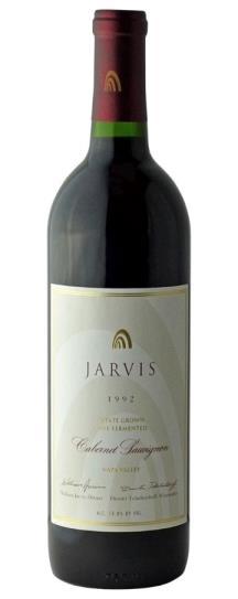1992 Jarvis Vineyards Cabernet Sauvignon Estate