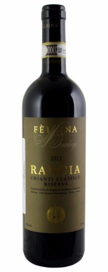 2012 Felsina, Fattoria di Chianti Classico Berardenga Rancia Riserva