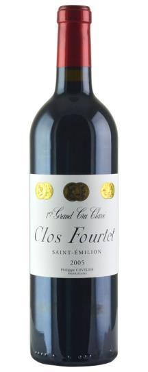2005 Clos Fourtet Bordeaux Blend