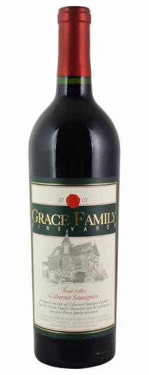 2001 Grace Family Vineyard Cabernet Sauvignon