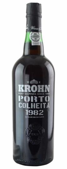 1982 Krohn Colheita Port