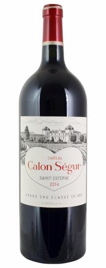 2014 Calon Segur Bordeaux Blend