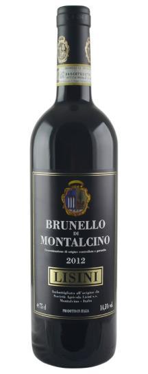 2012 Lisini Brunello di Montalcino