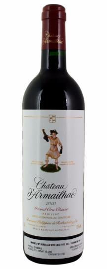 2000 d'Armailhac Bordeaux Blend