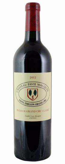2012 Pavie-Macquin Bordeaux Blend