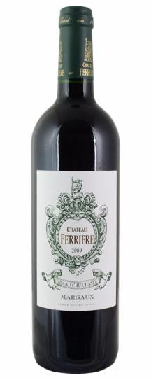 2009 Ferriere Bordeaux Blend