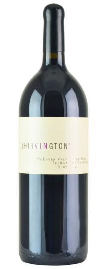2007 Shirvington Shiraz