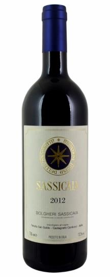 2012 San Guido Sassicaia