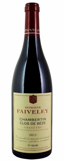 2011 Domaine Faiveley Chambertin Clos de Beze Grand Cru