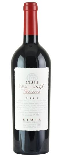 2005 Bodegas Altanza Club Lealtanza Reserva