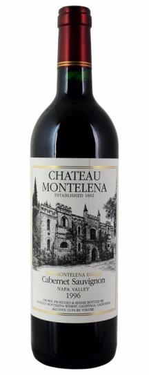 1996 Chateau Montelena Cabernet Sauvignon Estate