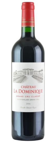 2016 La Dominique Bordeaux Blend