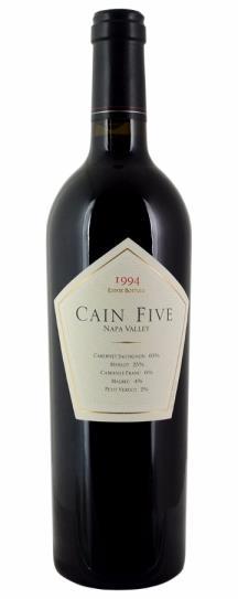 1994 Cain Cellars Cain Five