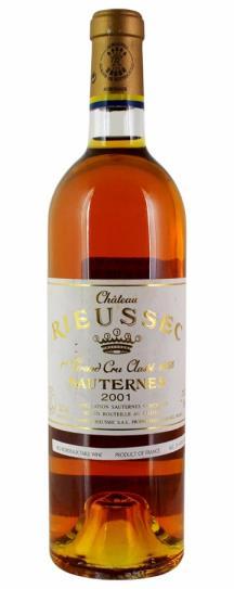 2001 Rieussec Sauternes Blend