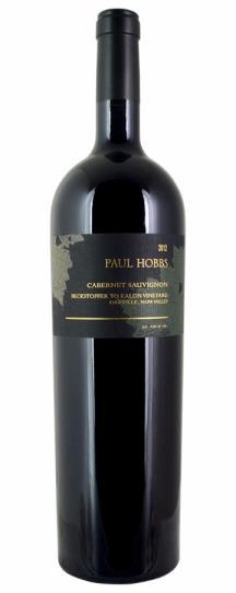 2012 Paul Hobbs Cabernet Sauvignon Beckstoffer To Kalon Vineyard
