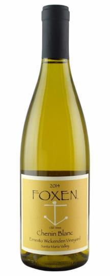 2014 Foxen Vineyard Old Vine Chenin Blanc Ernesto Wickendon Vineyard