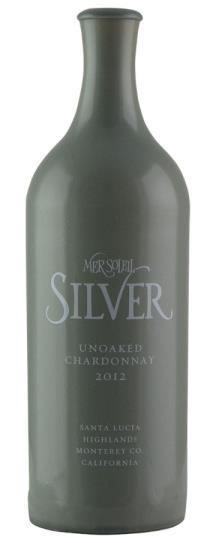 2012 Mer Soleil Silver Chardonnay Unoaked