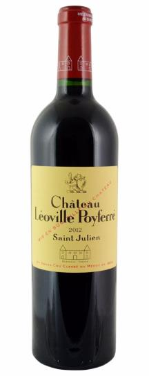 2012 Leoville-Poyferre Bordeaux Blend