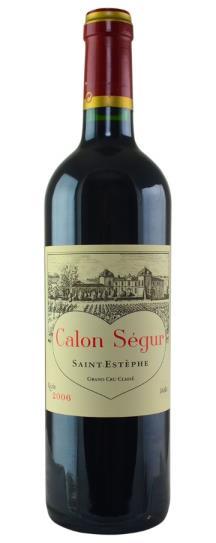 2006 Calon Segur Bordeaux Blend