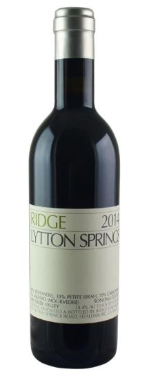 2014 Ridge Lytton Springs Proprietary Red Wine