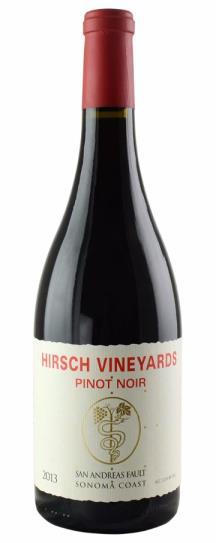 2013 Hirsch Vineyards Pinot Noir San Andreas Estate