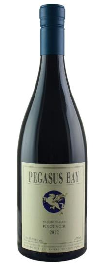 2012 Pegasus Bay Winery Pinot Noir