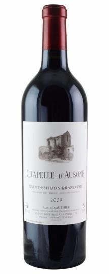2008 Chapelle d'Ausone Bordeaux Blend
