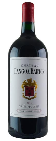 2015 Langoa Barton Bordeaux Blend
