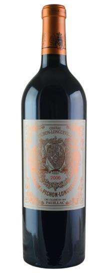2006 Pichon-Longueville Baron Bordeaux Blend