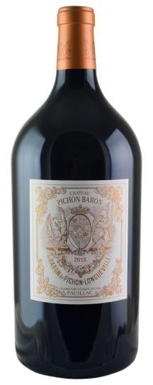 2015 Pichon-Longueville Baron Bordeaux Blend