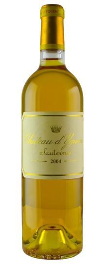 2004 Chateau d'Yquem Sauternes Blend