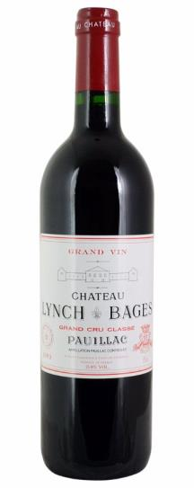 1999 Lynch Bages Bordeaux Blend
