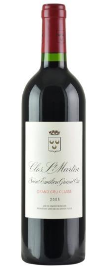 2005 Clos St Martin Bordeaux Blend
