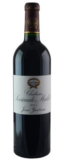 2016 Sociando-Mallet Bordeaux Blend